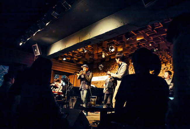 Jazz combo at Club Evan Seoul