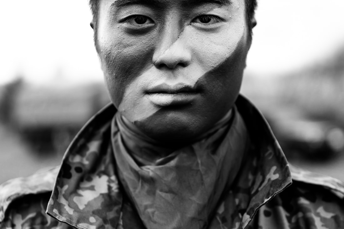 Japan army paratrooper documentary portrait