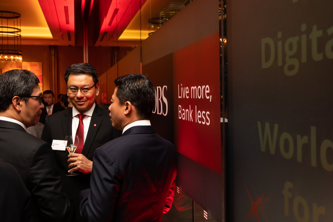DBS guests at gala event