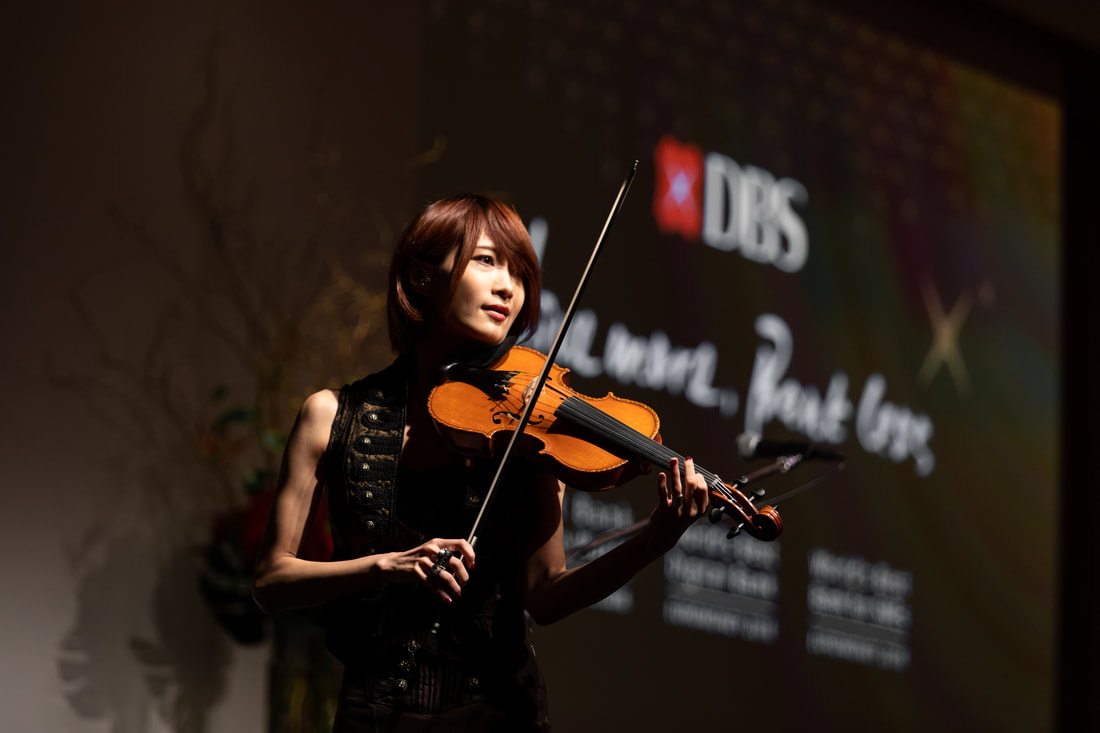 Musician at Gala event