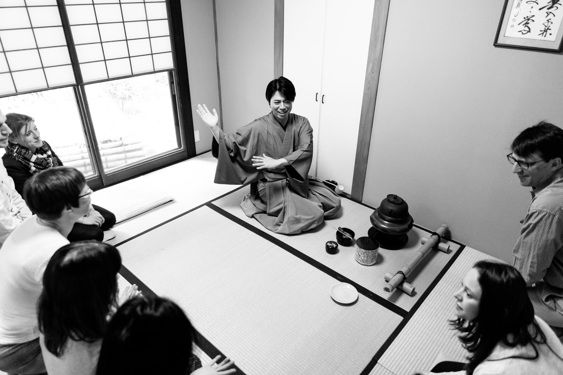 Kamakura tea ceremony