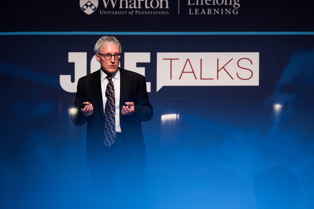 Wharton Joe Talks lecture